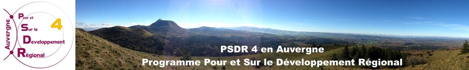 Bienvenue sur le site PSDR Auvergne